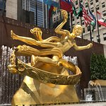 Fountain at Rockefeller Plaza