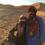 This is my wonderful caring camel guide from Chez MAdu