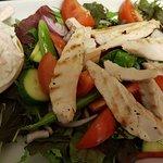 Tasty basic chicken salad