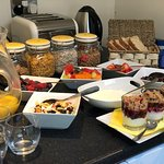 Breakfast spread-- Also made to order traditional Scottish breakfast
