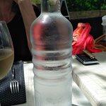 water op tafel