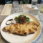 Calzone, its bigger than it looks!