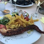 Grilled octopus, fantastic!