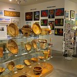 Wood art and more at Sunset Gallery