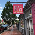 The entrance to Bev's