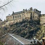 View towards Castle