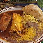 Tamale, Enchilada, Taco Combo
