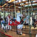 Silver Beach Carousel Foto