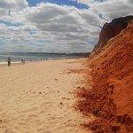 Praia da Falesia (Steilküstenstrand) Foto