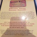 Foto de German Bakery Sachsen Cafe & Restaurant