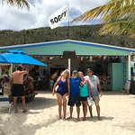 Scott and Cara Noble with Palm Tree Charters