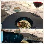 "Receta de arroz del Delta de L'Ebre...trufado ""side table"" !"