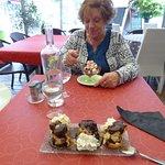 Desserts excellents, et copieux...