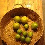 Cesta de frutas do Bendito Armazém