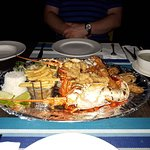 Amazing seafood platter - freshest lobster you can imagine