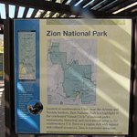 Map of Zion NP