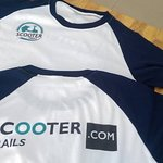 The first T-shirts of Scooter Trails.