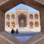 Amazing architecture of Uzbekistan