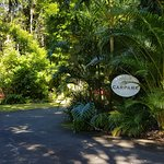 Entrance to Montville Grove carpark