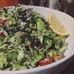 delicious salad at Tashas V & A Waterfront