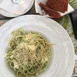 Gazpacho & broccoli pasta