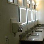Ladies Restroom Lighted Mirrors
