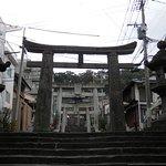 the long walk up , suwa temple