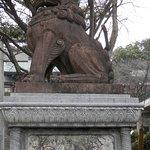 Komainu guardian suwa temple