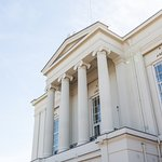 The facade of St Albans Museum +  Gallery