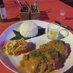 That is the famous fusion of french cuisine at this restaurant in siem reap