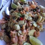 Nosso prato - peixe com camarão