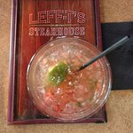 Smash at Leff-T's, very refreshing drink