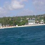 Mango Bay Hotel from the sea