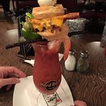 This is the ultimate in breakfast bloody Mary's and I highly recommend having it at least once!