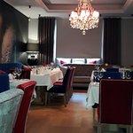 Flott restaurant i hyggelig atmosfære