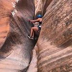 Rock wall walking
