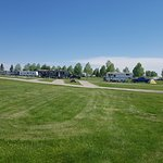 View of full service sites from field across from Calaway Park