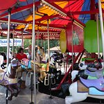 Carousel - adults can ride