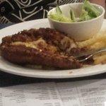 Chicken Parma, not good