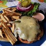 Green Chile Burger