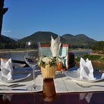 Lunch by the Mekong