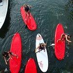 Stand up paddle sur la lagune