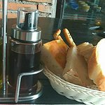Complimentary bread bar