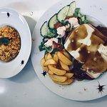 Chicken rissoto & New Orleans Chicken