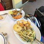 fritto misto piemontese (verdure, carni, dolci)