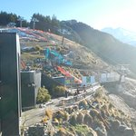 Renovations on the luge ride.