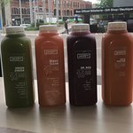 Fresh juices made daily