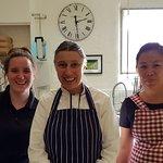 GKC Core Team: Rosie, Chef Lorraine & Nhene (March 2018).