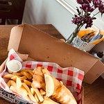 Takeaway Fish & chips - fresh battered Cod