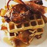 Waffles & Bacon for Breakfast